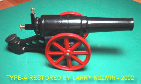 Black 60MM Cannons Big-Bang Cannons Cannon Breech Block For 6F